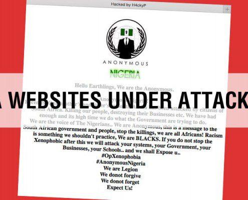 sa websites under attack